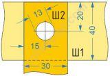 Схемы разборных соединений прямоугольных шин